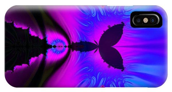 Cotton Candyland Fractal IPhone Case