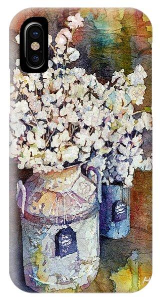 Branch iPhone Case - Cotton Stalks by Hailey E Herrera