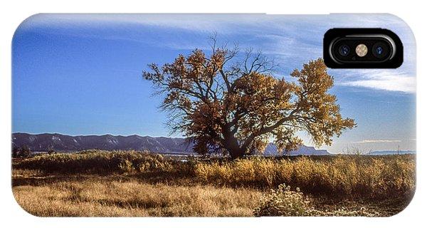 Cottonwood #2 Colorado Ranch Land Montezuma Valley Colorado Mesa Verde IPhone Case