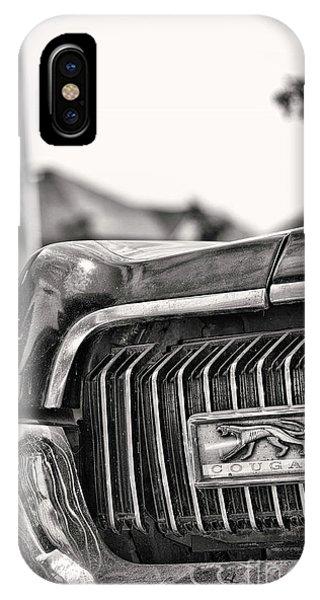 Cougar 1 IPhone Case