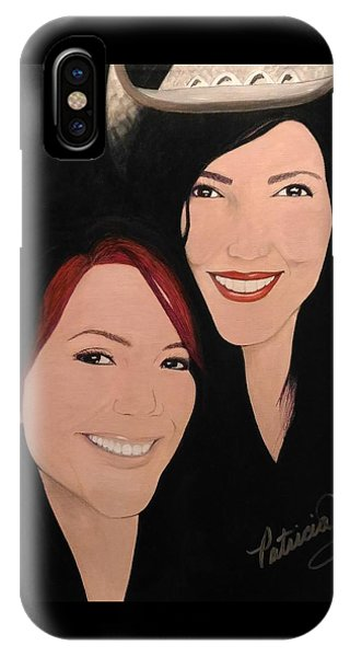 Cougrzz Rock Duo IPhone Case