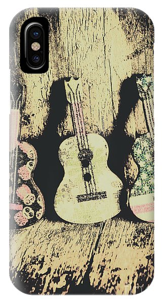 Musical iPhone Case - Country And Western Saloon Songs by Jorgo Photography - Wall Art Gallery