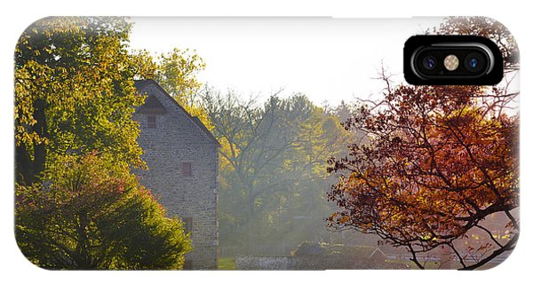 New England Barn iPhone Case - Country Autumn by Bill Cannon