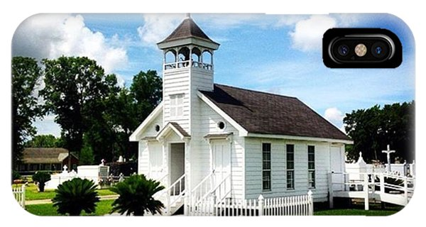 Religious iPhone Case - Country Chapel #love #church #louisiana by Scott Pellegrin