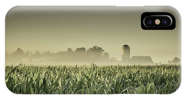 Country Farm Landscape IPhone Case