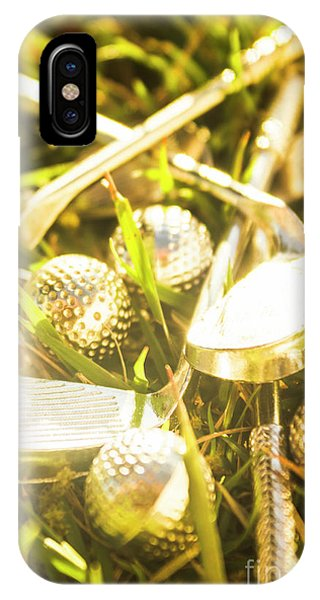 Golf Ball iPhone Case - Country Golf by Jorgo Photography - Wall Art Gallery