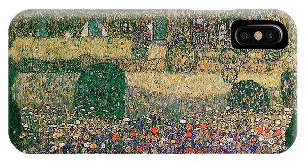 1862 iPhone Case - Country House By The Attersee by Gustav Klimt