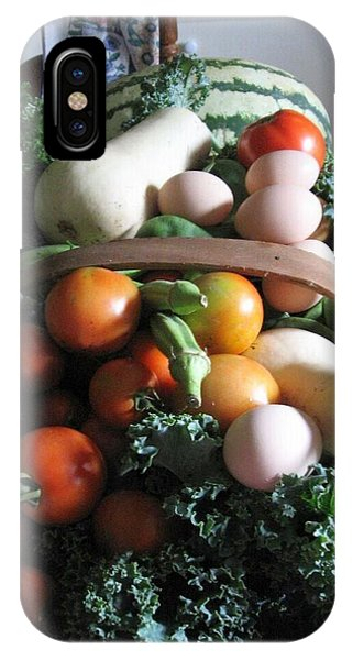 Country Kitchen Harvest IPhone Case