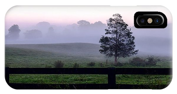 Country Morning Fog IPhone Case