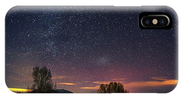 Country Night Life IPhone Case