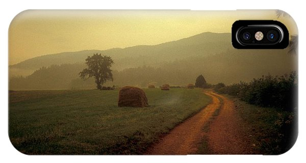 Country Road In The Mountains Phone Case by Molly Dean
