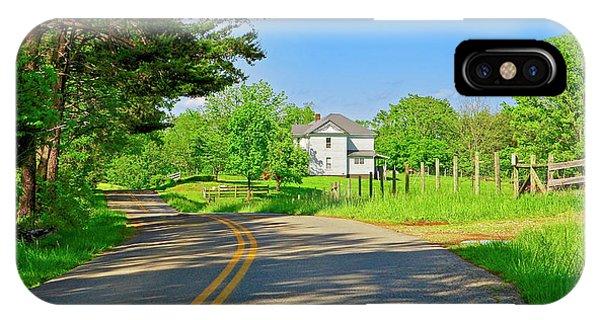 Country Roads Of America, Smith Mountain Lake, Va. IPhone Case