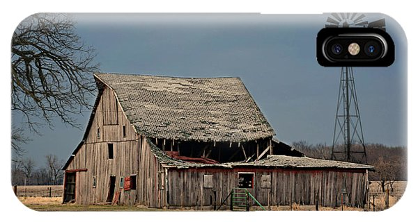 Country Roof Collapse IPhone Case