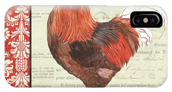 Rooster iPhone Case - Country Rooster 2 by Debbie DeWitt