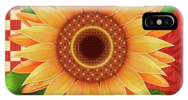 Country Sunflower IPhone Case
