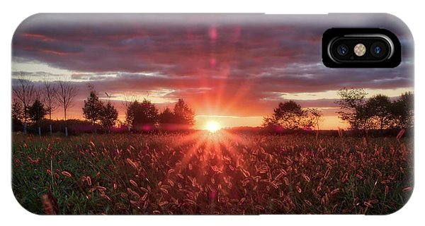 IPhone Case featuring the photograph Country Sunset by Mark Dodd