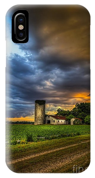 Silos iPhone Case - Country Tempest by Marvin Spates