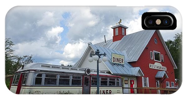 iPhone Case - Countryside Diner by Red Cross