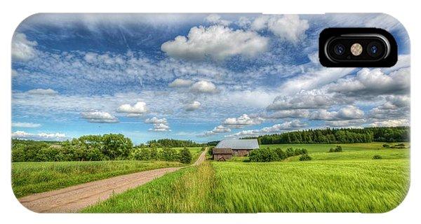 Salo iPhone Case - Countryside II by Veikko Suikkanen