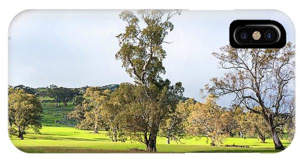 Countryside Victoria Australia IPhone Case