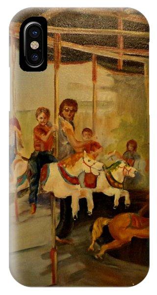 My Son iPhone Case - County Fair by Barbara Runyon Fregia