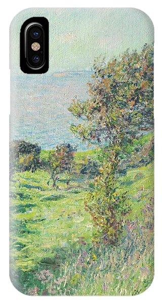 Normandy iPhone Case - Coup De Vent, 1881 by Claude Monet