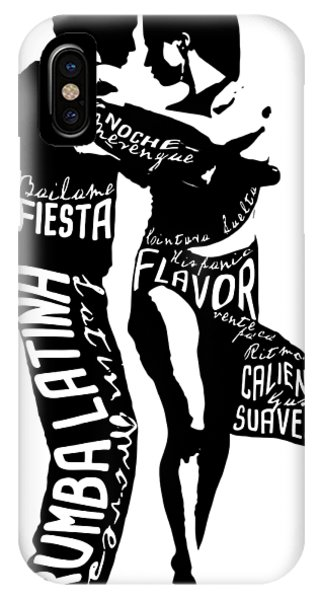 Couple Dancing Latin Music IPhone Case