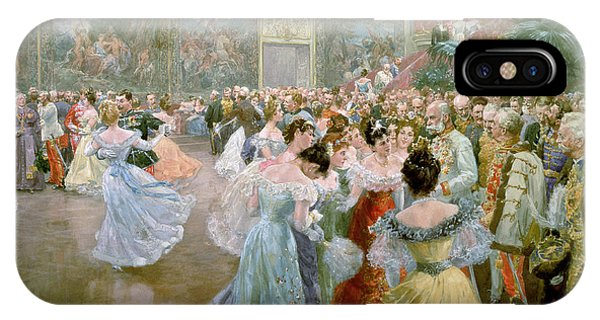 Palace iPhone Case - Court Ball At The Hofburg by Wilhelm Gause