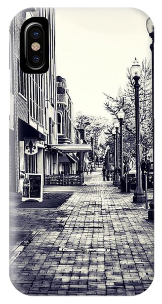 Court Street Clock Florence Alabama IPhone Case