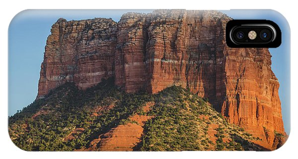 Courthouse Butte At Sunset IPhone Case
