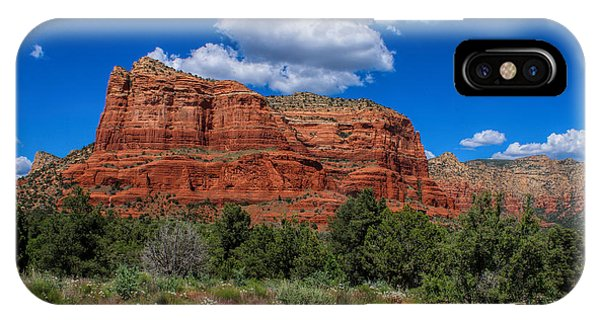 IPhone Case featuring the photograph Courthouse Butte by Ola Allen