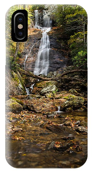 IPhone Case featuring the photograph Courthouse Falls by Claire Turner