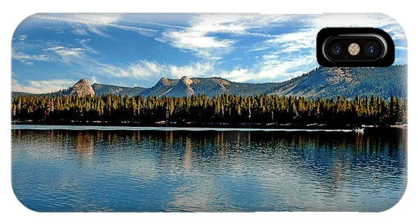 IPhone Case featuring the digital art Courtright Reservoir by Visual Artist Frank Bonilla