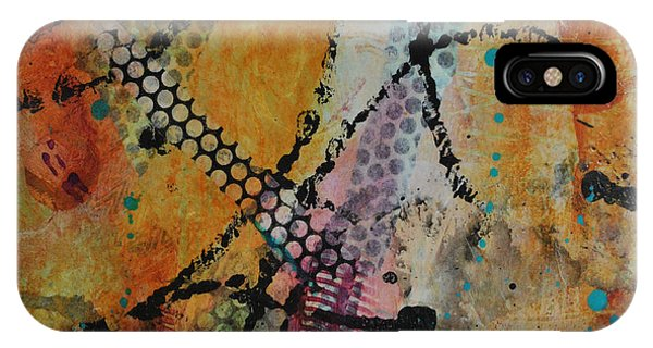 IPhone Case featuring the painting Courtship 4 by Kate Word