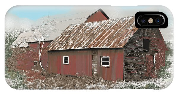 Coventry Barn IPhone Case