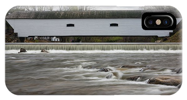 Covered Bridge In March IPhone Case