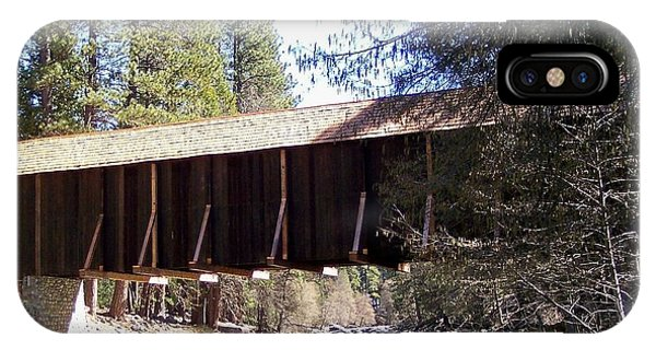 Covered Bridge Yosemite Phone Case by Marjorie Imbeau