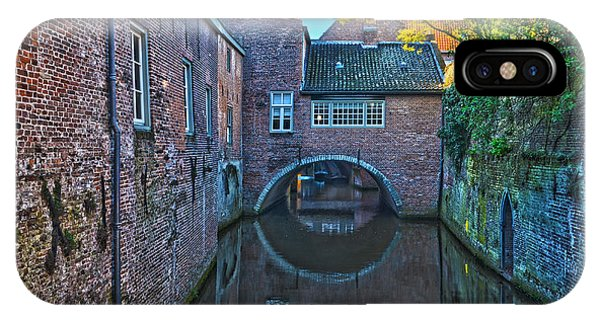 Covered Canal In Den Bosch IPhone Case
