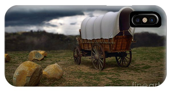 Covered Wagon 2 IPhone Case