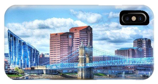 Covington Kentucky Skyline IPhone Case