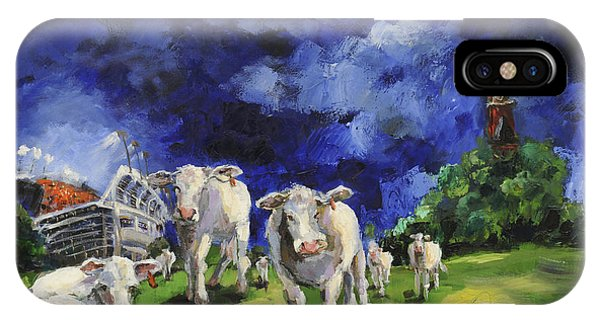 Cow College Auburn University IPhone Case