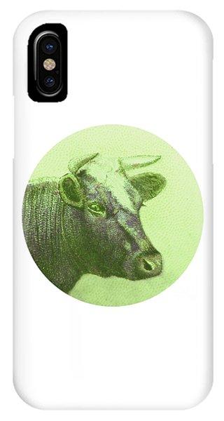 Cow II IPhone Case