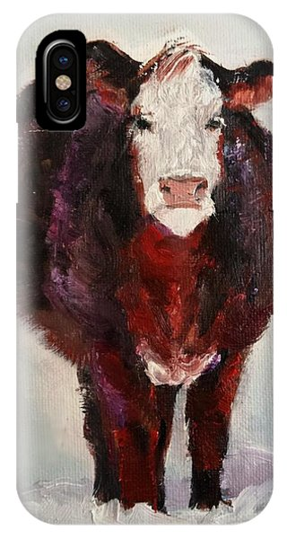 Cow Painting  IPhone Case