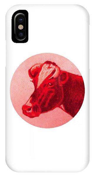 Cow Vi IPhone Case