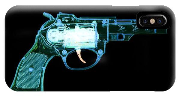 Cowboy Gun 001 IPhone Case