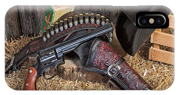 Cowboy Gunbelt IPhone Case