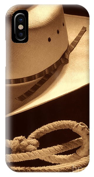 Cowboy Hat And Lasso IPhone Case