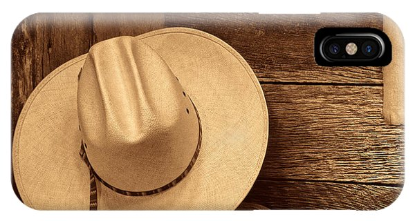 Cowboy Hat In Town IPhone Case