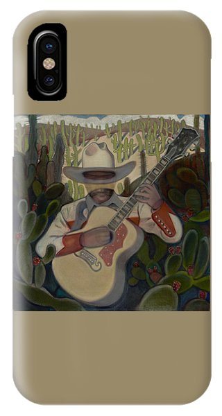 Cowboy In The Cactus IPhone Case