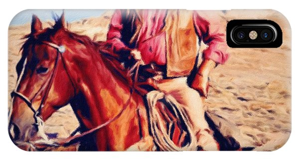 Cowboy John Wayne IPhone Case